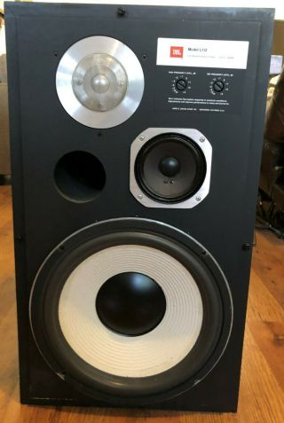 Jbl L112 Vintage Speakers Work,  Foam