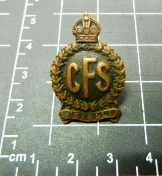 Cfs Collar Badge,  Central Flying School,  Very Rare Badge