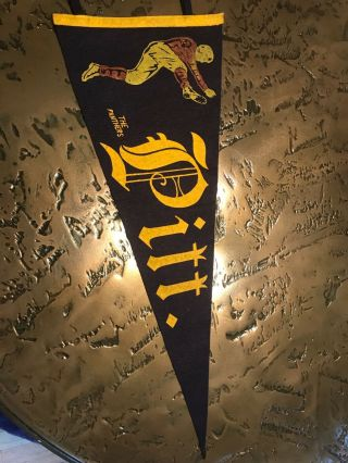 Wow Early 1900s Pitt Pittsburgh Vintage Extremely Rare Pennant