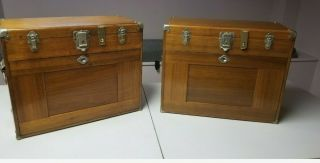 Vintage H Gerstner Sons Machinist Tool Boxes In