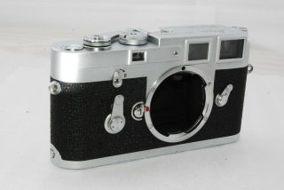 """ Rare,  "" Leica M3 High Serial Number 35mm Rangefinder Film Camera 2955"