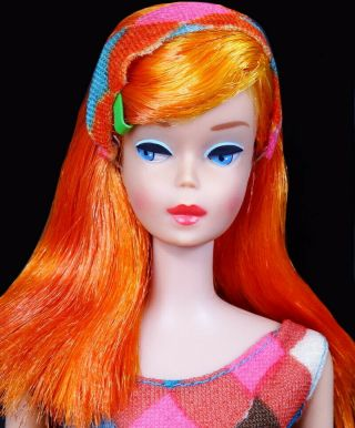 Htf Vintage Scarlet Flame High Color Magic Barbie Doll