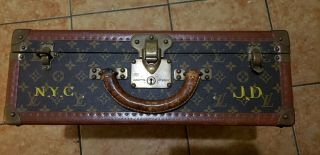 Vintage Louis Vuitton Monogram Trunk