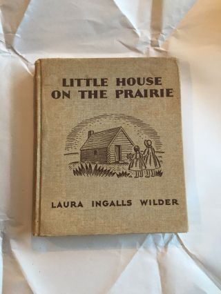 Laura Ingalls Wilder Little House On The Prairie 1935 First Edition Rare