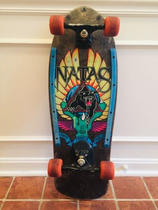 1988 Natas Kaupas Santa Monica Airlines Panther Complete Skateboard