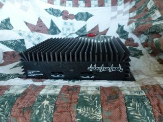 "Rockford Fosgate Punch 40 "" Slider "" Vintage Old School 2 Channel Amplifier"