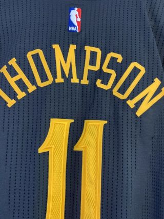 Rare Klay Thompson Warriors Chinese Year Game Worn Jersey Steph Durant 4