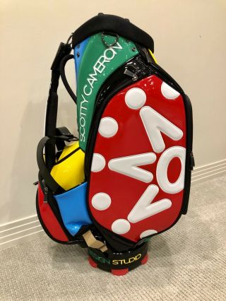 Scotty Cameron - Window Pane Multi Color Staff Bag (rare/limited)