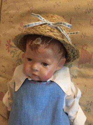 Antique Kathe Kruse 1 Cloth Doll