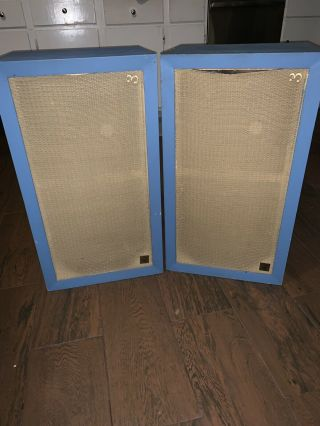 Vintage Acoustic Research Ar - 3 Ar3 Suspension Loudspeakers System Speakers