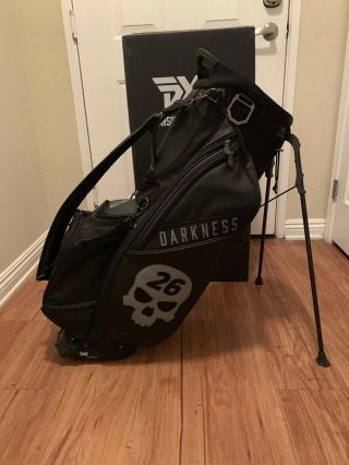 Pxg Darkness Limited Edition Golf Stand Bag Rare