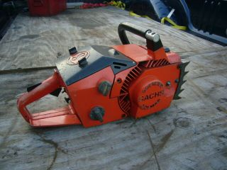 Sachs Dolmar Kms4 Kms - 4 Vintage Chainsaw Wankel Rotory Rare