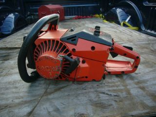 sachs dolmar kms4 kms - 4 vintage chainsaw wankel rotory rare 2
