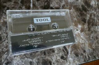 Tool - Rare 72826 Demo Tape Cassette 1991 Tool Shed Music Pre - Record Deal