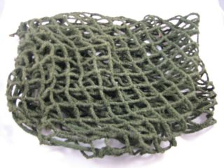 Us Ww2 M1 Helmet Net Cover Army Paratrooper With Instructions