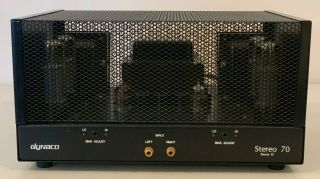 Dynaco St - 70 Mk Ii Vacuum Tube Stereo Power Amplifier (panor) / Rare /,