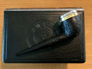 UNSMOKED DUNHILL LONGITUDE LIMITED EDITION SHELL BRIAR (1179 OF 2000),  RARE 10