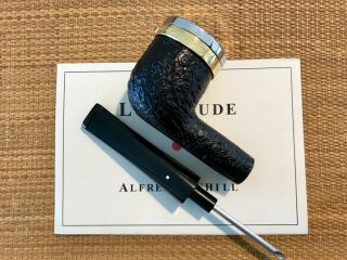 UNSMOKED DUNHILL LONGITUDE LIMITED EDITION SHELL BRIAR (1179 OF 2000),  RARE 12