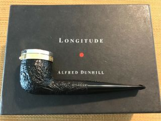 UNSMOKED DUNHILL LONGITUDE LIMITED EDITION SHELL BRIAR (1179 OF 2000),  RARE 4