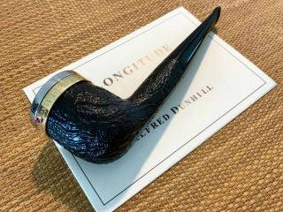 UNSMOKED DUNHILL LONGITUDE LIMITED EDITION SHELL BRIAR (1179 OF 2000),  RARE 6