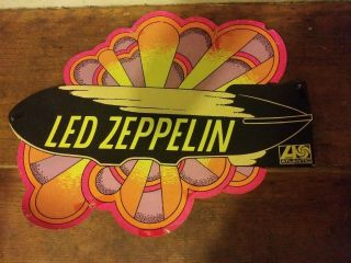 Rare Led Zeppelin 1969 Mobile Promo Atlantic Record In - Store Display