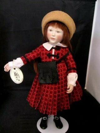 "Rare 15 "" Lynne And Michael Roche Doll Gigi 1998 Club Doll 9 Of 100"