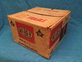 RARE Vintage Weber Charcoal Grill 1968