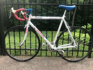 Vintage 1989 Cannondale Crest Racing Team Bicycle