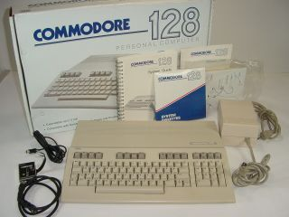 Vintage Commodore 128 Personal Computer W/ Parts & User Guides