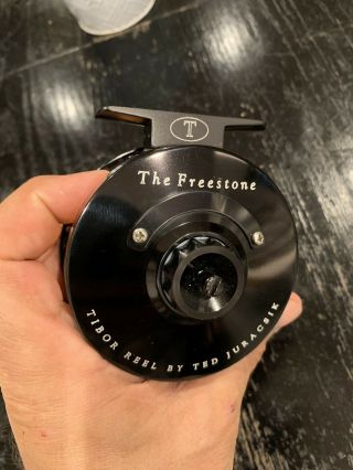 Tibor Fly Reel The Freestone Rare Discontinued Barely