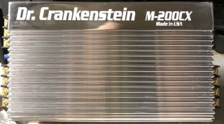 Old School Dr.  Crankenstein 2 - Channel,  Amplifier,  Rare,  Vintage,  Usa,  Nos,  Nib