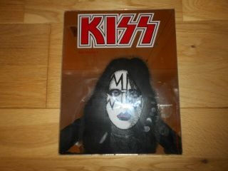 Kiss Memorabilia Vintage Ace Frehley 1980 Aucoin Management Mirror Frame / Hang