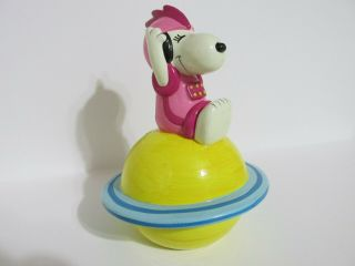 Snoopy Peanuts Charlie Brown Belle Determined Ultra Rare Space Series Bank 1970