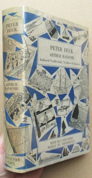 Arthur Ransome - Peter Duck - Rare 1932 Uk 1st/1st Hb Dj - Swallows & Amazons
