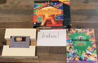 Earthbound Complete Rare