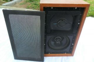 Vintage Rogers Ls3/5a Monitor Loudspeaker Speaker Single