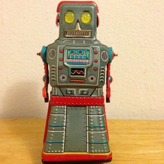 Atom Robot,  Made By Yonezawa,  Japan 1950
