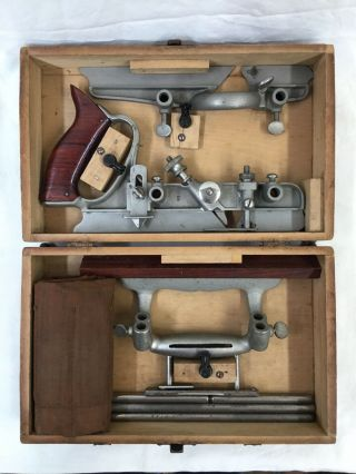 Sargent 1080 Combination Woodworking Plane Vintage Collectible Old Tool