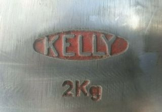 Vintage Kelly 2kg Axe Wax 001 Made In Australia Example Handle 5