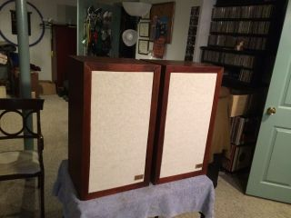 Acoustic Research Ar - 3a Stereo Speakers - Vintage - As - Is