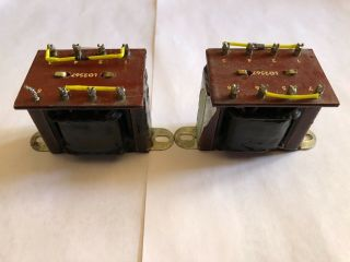 Pair Neve Lo2567 Output Transformer Neve 1081 Vintage,  Not A Reissue