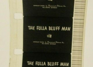 16mm Film 1940 Max Fleischer Stone Age Cartoons The Fulla Bluff Man Vintage 9th