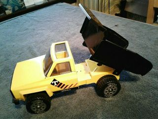 Vintage Tonka Yellow Pick Up Truck Near