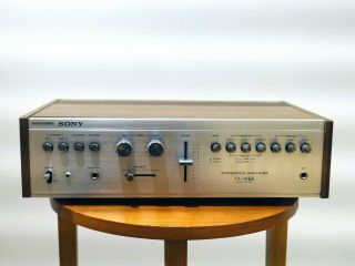 Sony Ta - 1066 Vintage Integrated Stereo Amplifier Stunning Looking Retro Amp