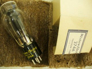 Western Electric 274a Rectifier Vacuum Tube Early Vintage,