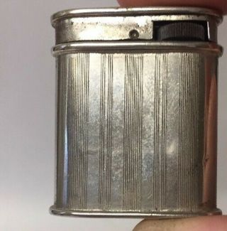 Unusual Antique Collis Petrol Pocket Lighter,  (bigney Style)