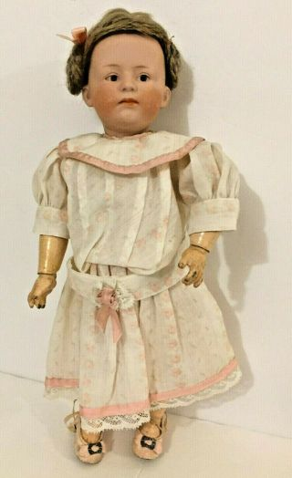 Heubach 6969 Bisque Pouty Character Doll Child Rare