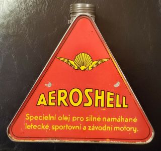 Aeroshell Oil Can 1920