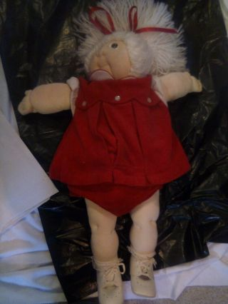 "Rare 1979 Xavier Roberts Christmas Edition Little Person "" Jennifer Cathleen """