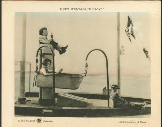 The Boat Buster Keaton 1921 Lobby Card Vintage 11x14 Rare